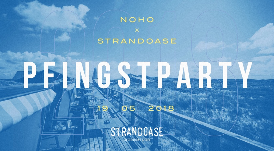 Pfingstparty 2018 by NOHO x Strandoase Sylt